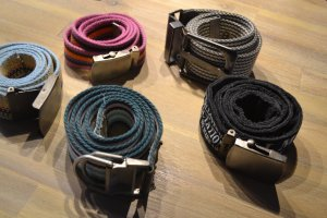 Esprit Fabric Belt multicolored