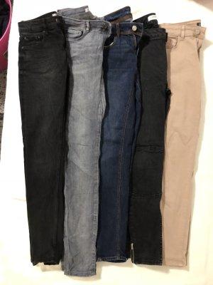 Zara Pantalone a sigaretta multicolore