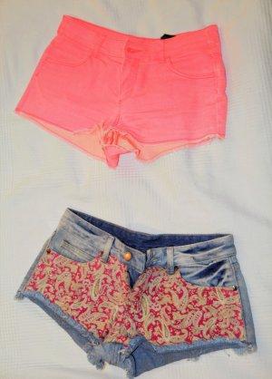 Verschiedene Jeans Shorts