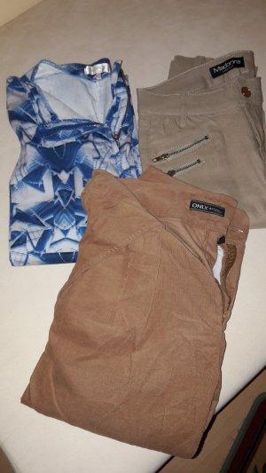 verschiedene Jeanshosen