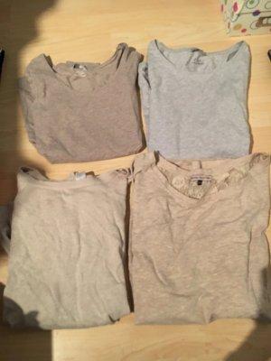 Verschiedene langarm Shirts