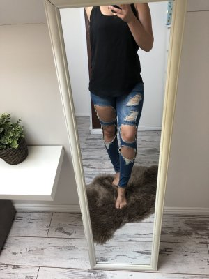 Tally Weijl Pantalone a sigaretta blu