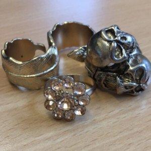 Verschiedene Ringe