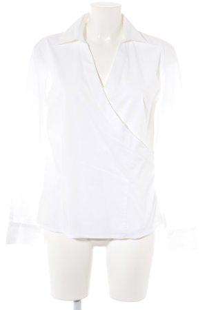 Verse Colletto camicia bianco stile casual