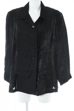 Verse Kurz-Blazer schwarz Casual-Look