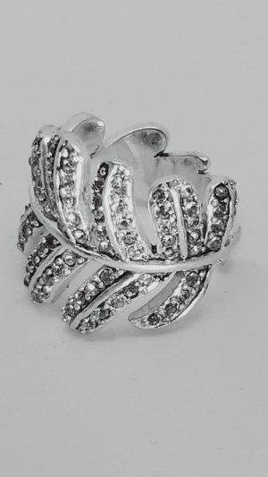 Pilgrim Ring silver-colored