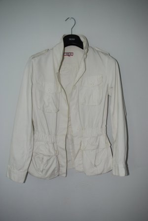 Safari Jacket white cotton