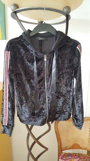 Raincoat black polyester