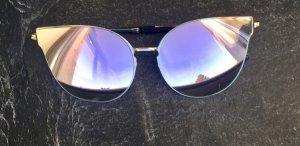 Verspiegelte Blogger Sonnenbrille