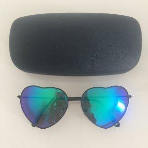 Verspiegelte Herz-Sonnenbrille von Zara