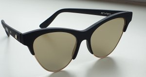 Le Specs Bril zwart