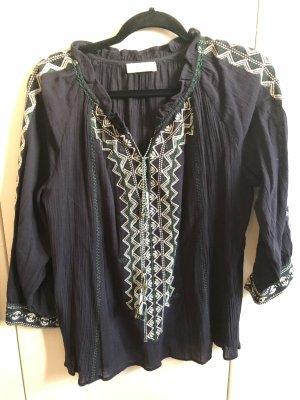 Ba&sh Tunique-blouse multicolore