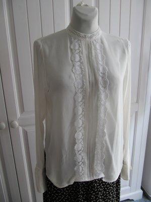 Verspielte Bluse im Retro-Vintage-Stil von H&M, Gr. 40