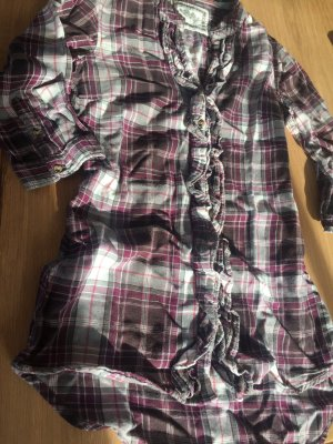 Verspielte Bluse mit Rüschchen - Lila - ONLY | Gr. S