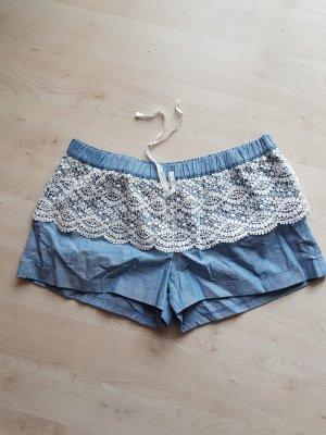 verspielte kurze Shorts mit Spitzenbesatz #neu #D 38/D40#