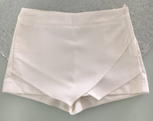 H&M Divided High-Waist-Shorts white