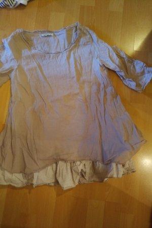 Boatneck Shirt beige