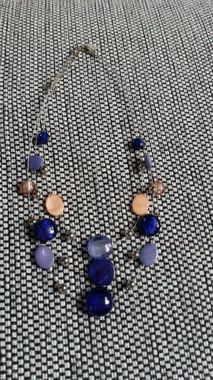 Verspielte Statementkette Perlen Halskette Abschlussball
