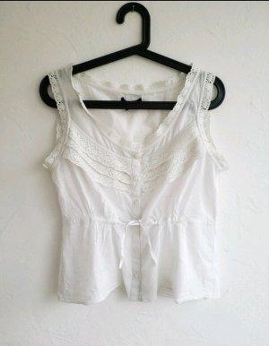 H&M Blusa bianco