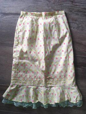Taffeta Skirt multicolored cotton