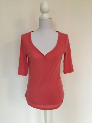 Verspieltes 3/4 Arm Shirt in apricot