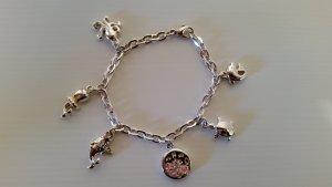 Verspieltes Armband aus echtem 925er Silber