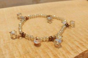 Verspieltes BIBA Armband in beigegold und roségold
