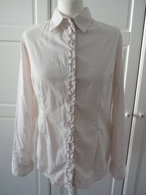 Anne L. Long Sleeve Shirt white-nude cotton