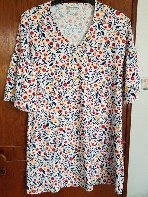 Mango Vestido de tela de sudadera multicolor