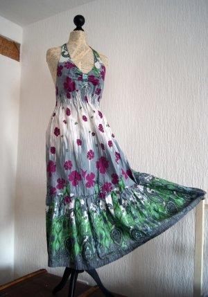 Verspieltes Neckholder Kleid, Größe 36
