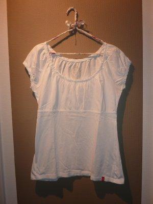 Verspieltes weißes Shirt