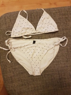Bikini white-blue