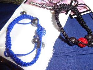 Friendship Bracelet black-red