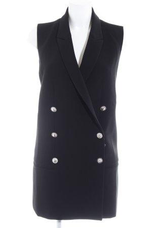 VERSUS Versace Cut-Out-Kleid schwarz Street-Fashion-Look