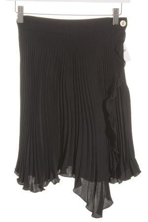 VERSUS Versace Faltenrock schwarz Casual-Look