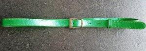 Versus Versace Gürtel , uni,  grün, Größe 85 cm