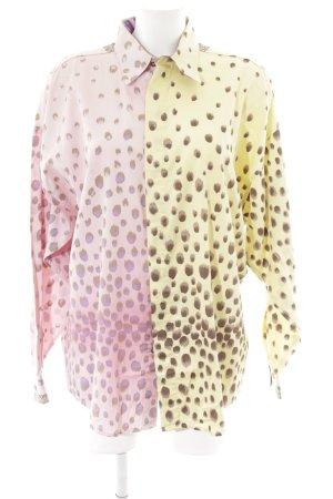 VERSUS Versace Hemd-Bluse Mustermix Casual-Look