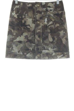 VERSUS Versace Minirock Camouflagemuster Casual-Look