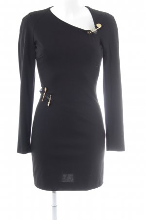 VERSUS Versace Tube Dress black-gold-colored elegant