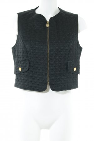 VERSUS Versace Steppweste schwarz Casual-Look
