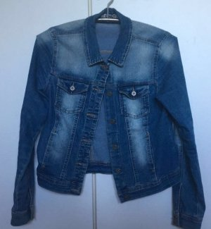 Only Veste en jean multicolore