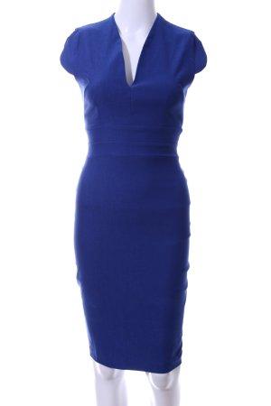Vesper Kokerjurk blauw casual uitstraling