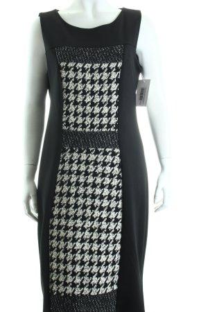 Vestino Bleistiftkleid schwarz-wollweiß Hahnentrittmuster klassischer Stil