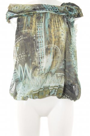 Vestino Blouse Top abstract pattern casual look
