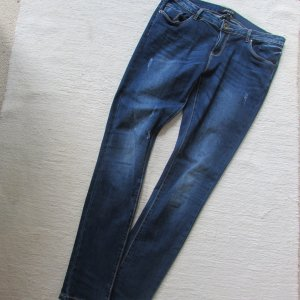 Vestino * Coole skinny destroyed Jeans * dunkelblau denim * 44 (42) L32