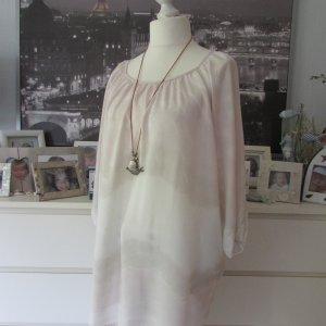 Vestino * Edle oversize Viskose Tunika * rosé-nude Farbverlauf * 42/44/46