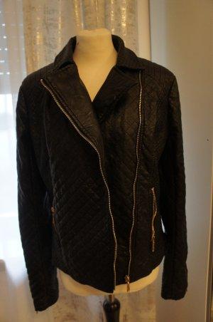 Vestino Jacke Größe 42 Lederjacke Kunstleder