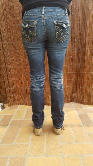 Vestino Jeans in hell und dunkelblau