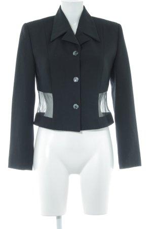 Vestino Kurz-Blazer schwarz Elegant