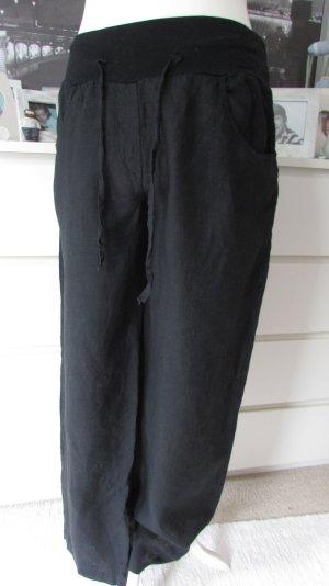 Vestino * Traum Leinen Hose Marlen-Stil * schwarz * 42/44